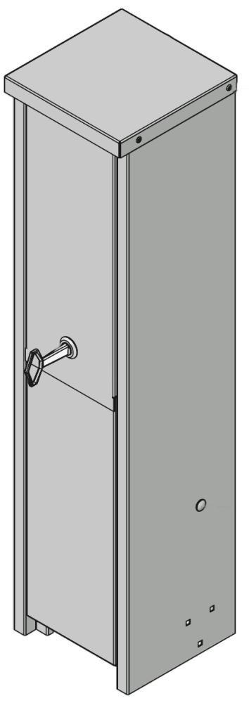 Intagsskap-180mm-aluminium