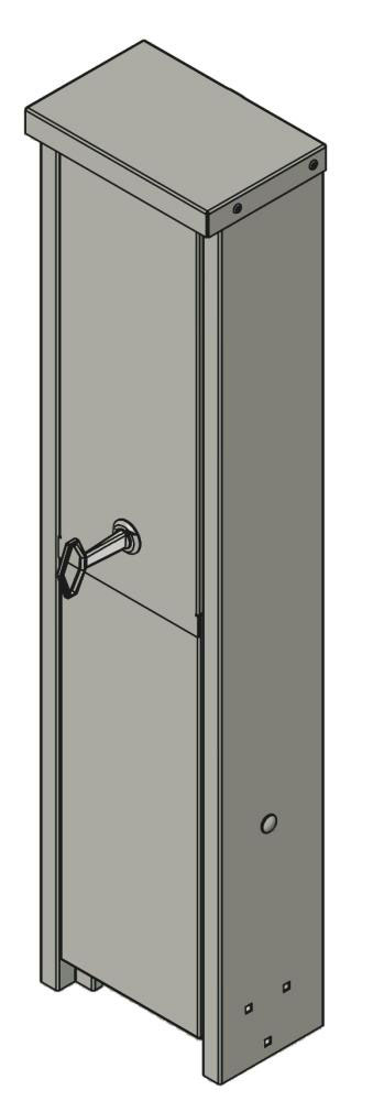 intagsskap-180mm-galvaniserad-lackerad-ritning